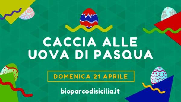 Caccia alle uova di Pasqua, l'appuntamento per bambini al Bioparco di Sicilia