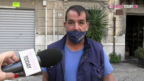 VIDEO | Vucciria, tamponi gratis per i bisognosi e i residenti del quartiere