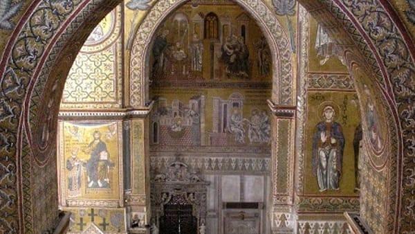 MONREALE. Duomo, veduta del transetto verso nord.-2