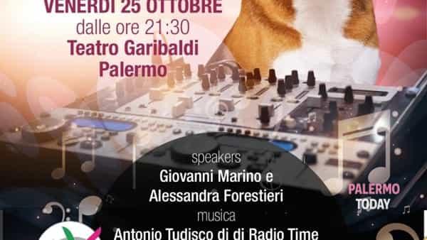 """""""Bau...llando"""", al Teatro Garibaldi una serata disco a sostegno dei cani abbandonati"""