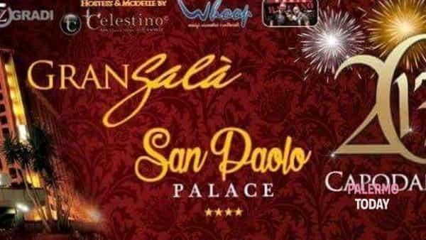 Capodanno 2017 all'Hotel San Paolo Palace