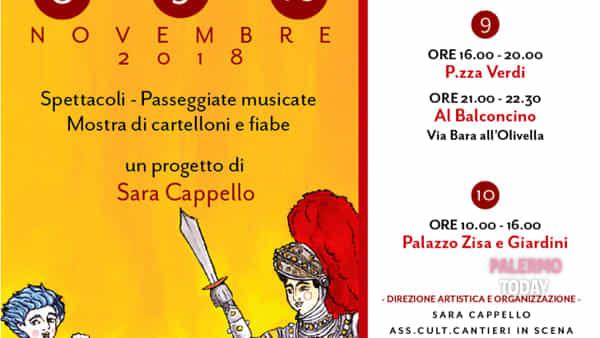 Cartelloni e dipinti di fiabe popolari tra storie e cunti, la mostra al Teatro Cantunera