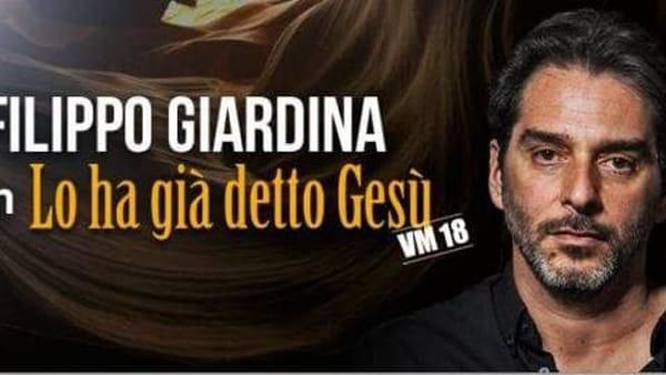 """""""Lo aveva già detto Gesù"""" per School of Comedy, Filippo Giardina sul palco del Mob"""
