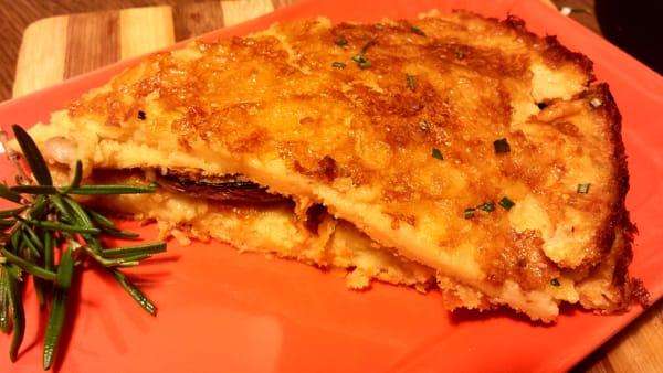 Farinata al forno con melanzane grigliate 6-2