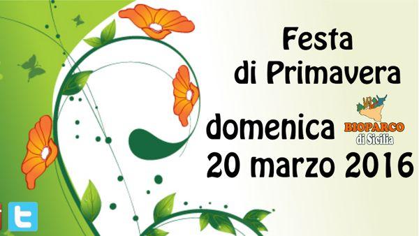 Festa di Primavera al Bioparco di Sicilia