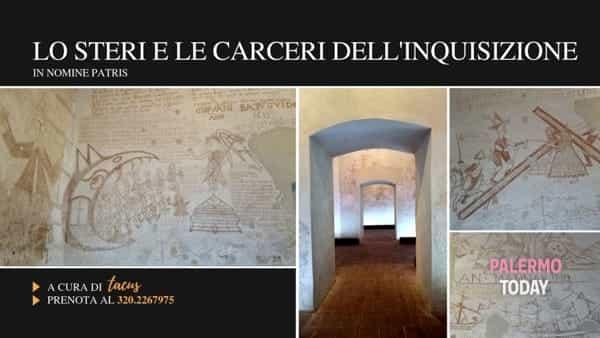 """""""In nomine patris"""" in un tour, alla scoperta dello Steri e le carceri dell'inquisizione"""