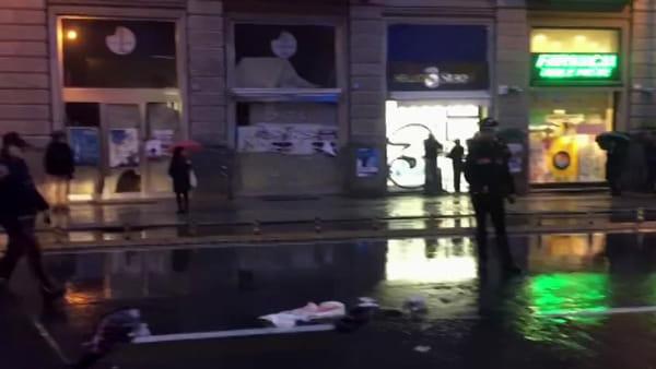 Ancora un pedone investito in via Roma, le immagini dal luogo dell'incidente | VIDEO