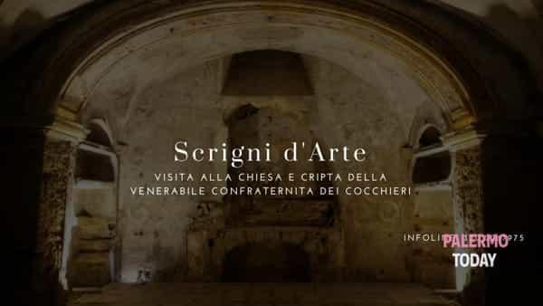 Scrigni d'arte, visita alla chiesa e alla cripta di Santa Maria dell'Itria dei Cocchieri