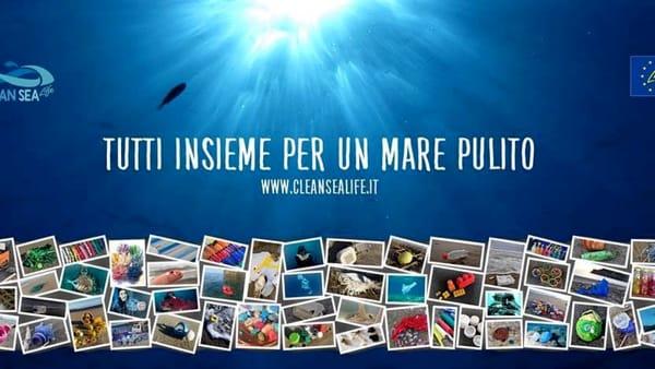 """Tutti insieme per un mare pulito, il progetto """"Clean Sea Life"""" alla Libreria del mare"""