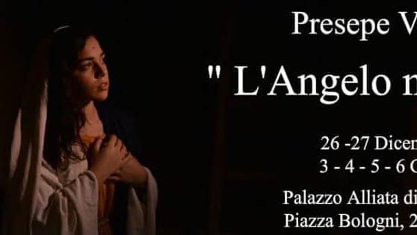 """""""L'angelo mi disse"""", presepe vivente a Palazzo Alliata di Villafranca"""