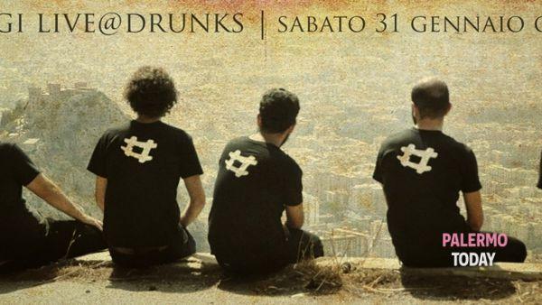 """""""Utveggi"""", concerto di rock siculo-giapponese live al Drunks"""