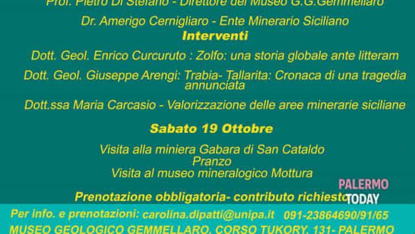 """Dalla crisi di salinità all'epopea dei """"carusi"""", a Palermo il convegno """"Lo zolfo in Sicilia"""""""