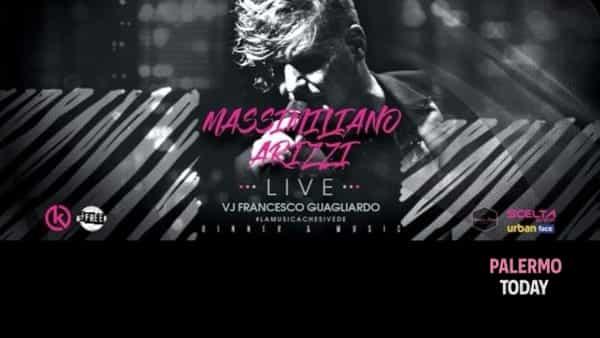 Il live di Massimiliano Arizzi, il dj set di Guagliardo: domenica al Teatro di Verdura