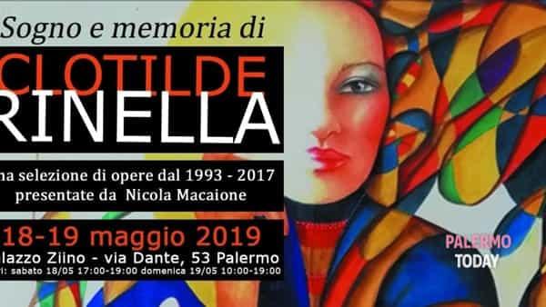 Sogno e memoria in una mostra, la opere di Clotilde Rinella a Palazzo Ziino