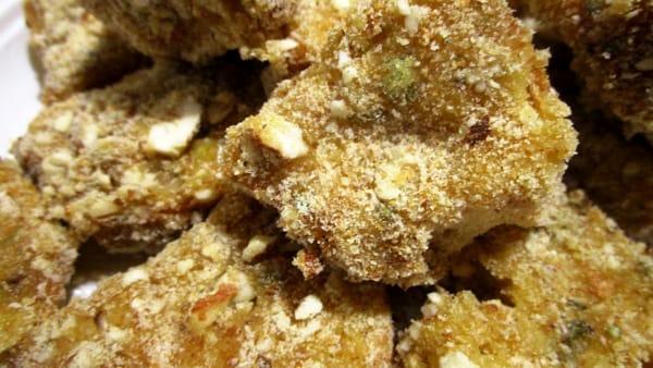 Pane fritto agli aromi e mandorle 5-2