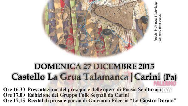 La giostra dorata, mostra e recital di Giovanna Fileccia a Carini