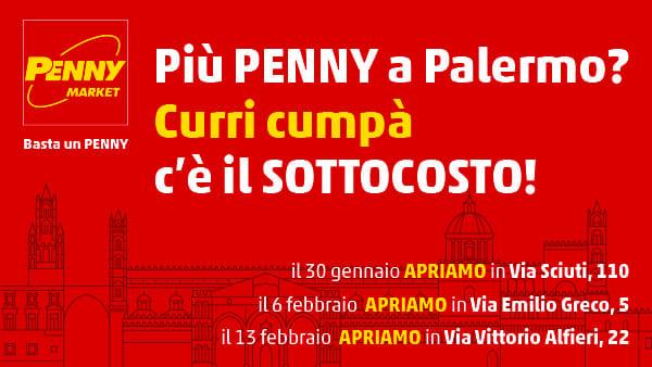 L'ex punto vendita SMA in via Vittorio Alfieri 22 cambia volto e diventa PENNY Market