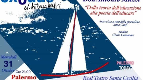 Dalla teoria dell'educazione alla poesia dell'educare, Don Mazzi incontra i palermitani