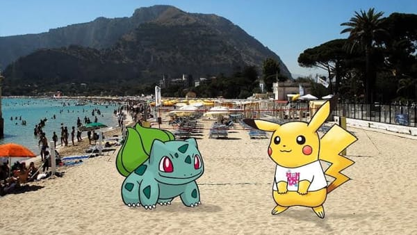 Pokemon a Mondello