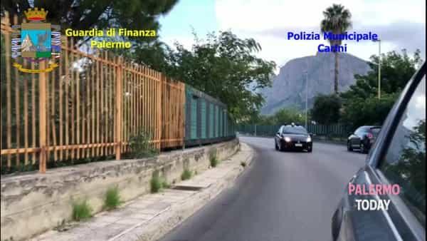Al posto del torrente una discarica e una stalla, le immagini dell'area sequestrata a Carini | VIDEO