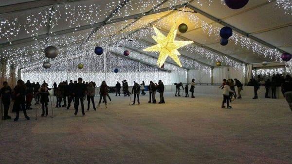 Gospel sul ghiaccio al Giardino Inglese, in pista il concerto di Natale di Chiara Minaldi