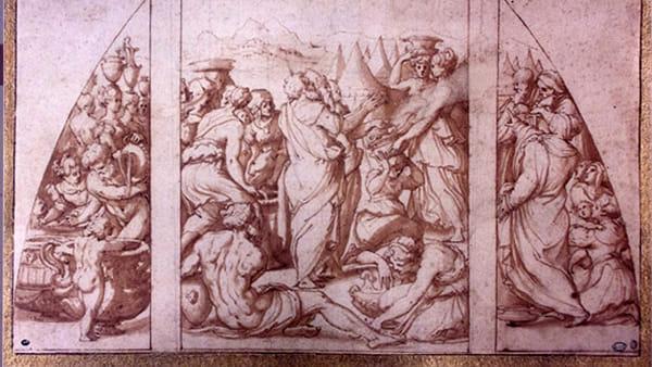 """""""Manna dal cielo"""" a Cefalù, le opere di Giorgio Vasari in una mostra al museo Mandralisca"""