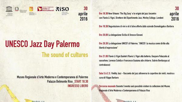 Unesco Jazz Day: musica, degustazioni e dibattiti al Museo Riso