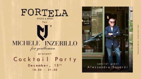 Palermo ospita l'eccellenza della moda italiana: la Boutique Michele Inzerillo e Fortela insieme per un cocktail party