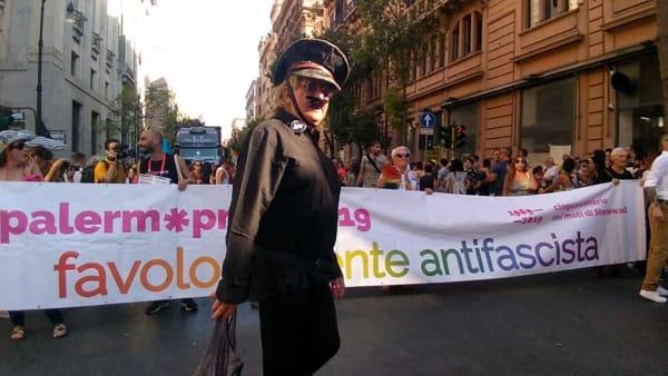 Favolosamente antifascista, la parata del Palermo Pride per i 50 anni dei moti di Stonewall