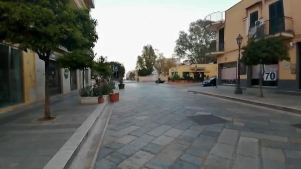 VIDEO | Strade deserte e saracinesche abbassate: anche Bagheria in quarantena per il Coronavirus
