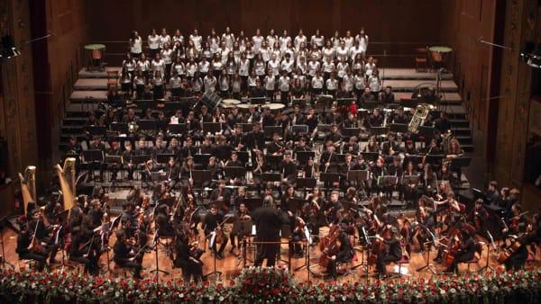 L'orchestra kids e la grande musica francese, il concerto al Teatro Massimo