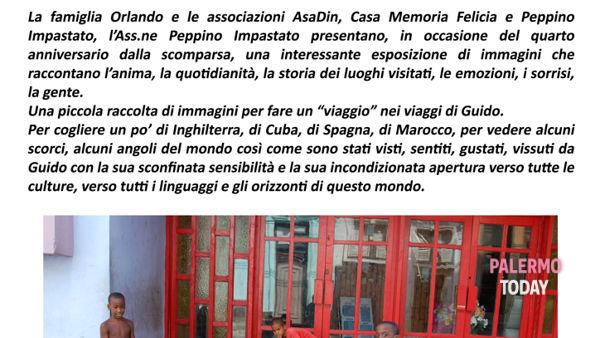 """""""Ciao Guido – i viaggi"""", mostra fotografica a Terrasini"""
