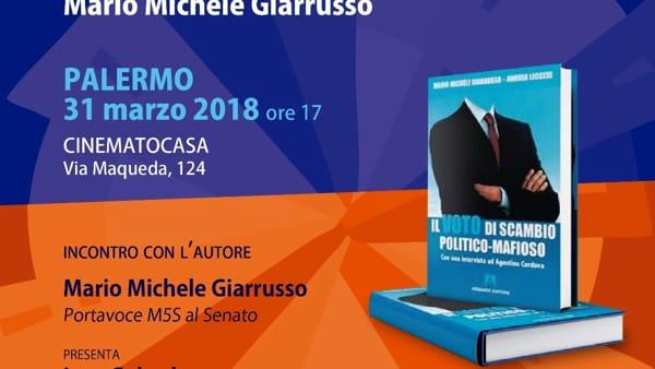 """""""Il voto di scambio politico mafioso"""" è un libro: la presentazione da Cinematocasa"""