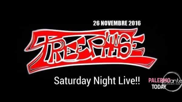 Treephase live show al Decanter