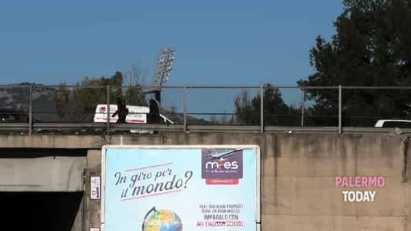 Al via i lavori sul ponte di via Basile, traffico impazzito in viale Regione | VIDEO