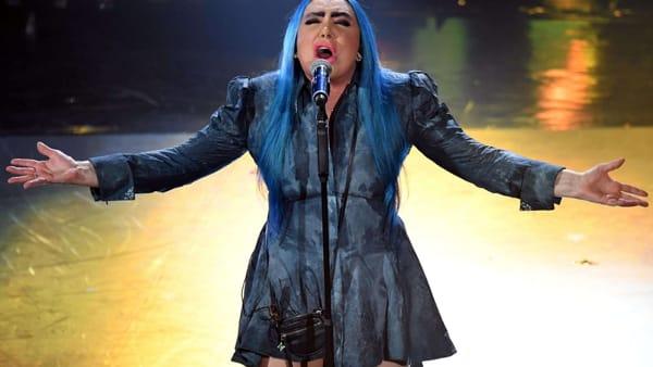 Loredana Bertè in un live Sanremo edition, il concerto sul palco del Teatro di Verdura