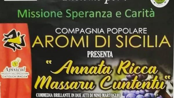 Annata ricca massaru cuntentu, al Don Bosco lo spettacolo per la missione di Biagio Conte