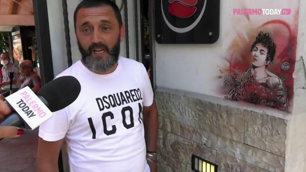 VIDEO | Quando l'artista di strada francese Guemy lasciò un po' di Caravaggio a Palermo
