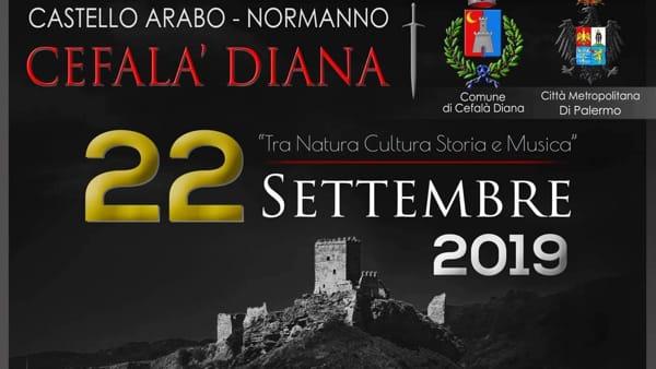 Cefalà Diana, una domenica al castello all'insegna di natura, cultura storia e musica