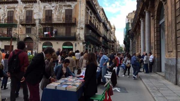 """Palermo come una libreria a cielo aperto, torna """"La via dei librai"""" al Cassaro Alto"""