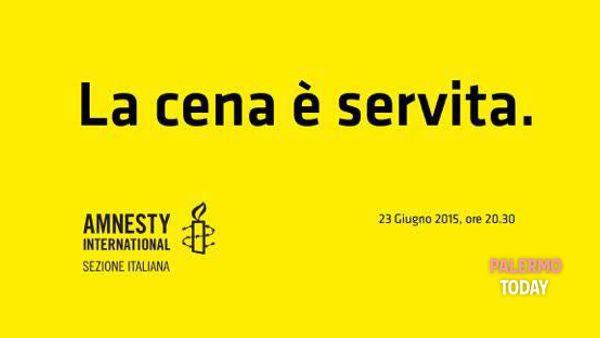 """""""La cena è servita. A una giusta causa"""": serata di beneficenza per Amnesty al Kalhesa"""