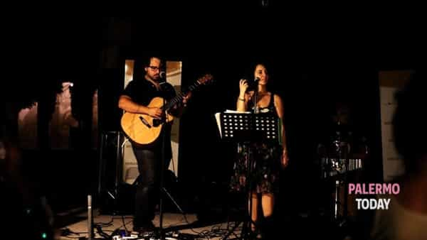 Pizza sound, arte e spettacolo: i Notice the note duo in concerto al Mille e una notte
