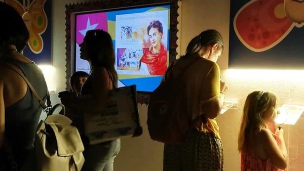 Sabato alla scoperta di Palazzo Cloos Zingone Trabia e anche della mostra su Frida Kahlo