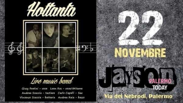 Live degli Hottanta music band, al Jayson Irish Pub un concerto con le canzoni anni '70 e '80