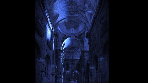 Santa Caterina come non l'avete mai vista, un video mapping all'interno della chiesa