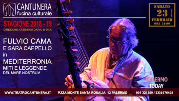 Mediterronia, miti e leggende del Mare Nostrum: appuntamento al Teatro Cantunera