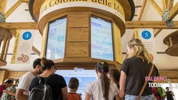 Sbarca a Palermo il tour del Mulino Bianco, hi-tech e alimentazione in piazza Unità d'Italia