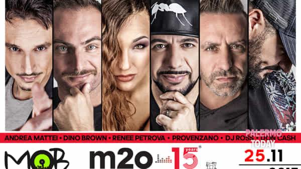 Radio m2o compie 15 anni, grande festa al Mob Disco di Carini