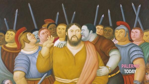 """""""Via Crucis, la pasiòn de Cristo"""", mostra di Botero a Palazzo Reale"""
