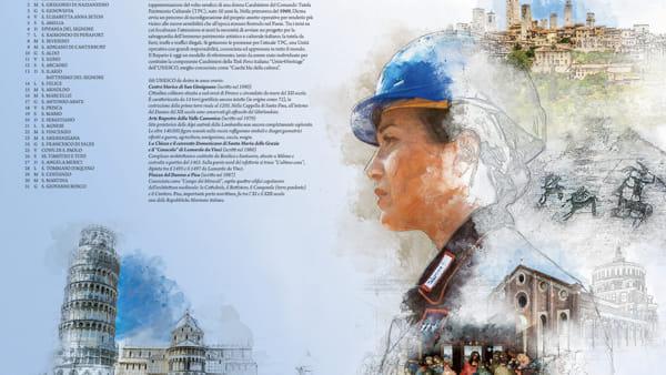 Calendario Storico Carabinieri 2020.Carabinieri Presentato Il Calendario Dell Arma 2019 2020